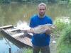 Martin Melichar, Bolen dravý, revír 421035, 16.6.2011, wobler, míra 70 cm, váha 3,25 Kg