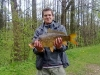 Petr Jirka ml., Rynárecký rybník, 26.4.2011, plavaná-kukuřice, kapr obecný, 60 cm, 3,98 kg