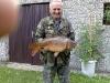 Vlastimil Sobek, 25.7.2011, ÚN Trnávka, Kapr obecný, 67cm, 6,8 kg, nástraha kukuřice